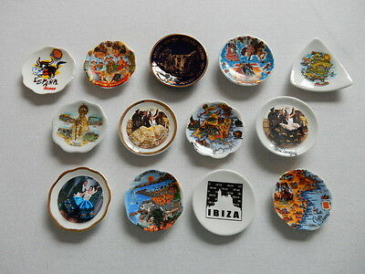 One Selected Bone China Souvenir Fridge Magnet from Spain