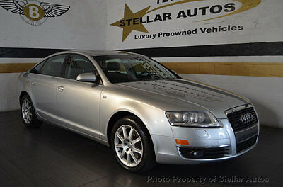 2005 Audi A6 4dr Sedan 3.2L quattro Automatic LOW MILES SUPER CLEAN CARFAX FLORIDA WARRANTY FREE SHIPPING IN US XENON HEATED
