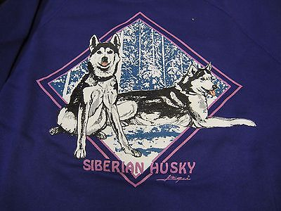 Siberian Husky Sweat Shirt - Brand New - Choose your color and size!