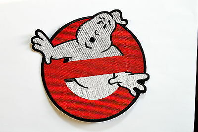 10x GHOSTBUSTERS ~ 6.5 inch GHOST ~ Movie BUSTERS Iron On patch Shirt Jean