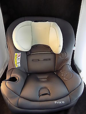 PRIA 70 AIR Car Seat COVER black and grey replacement childrens chair CLEAN!