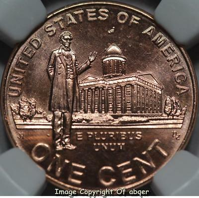 2009 P Lincoln Cent Professional Life Ngc Ms68Rd Ms 68 Buiness Strike Not Satin