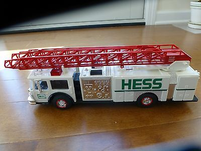 1989  HESS  Fire Truck with Ladder and many other features