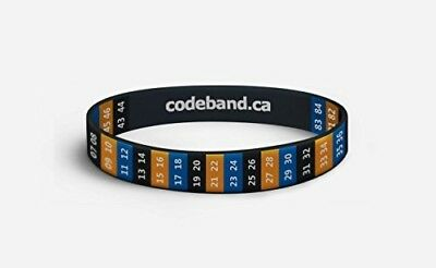 Silicone Code Band with Electrical Wiring Color Codes reference for Electrician