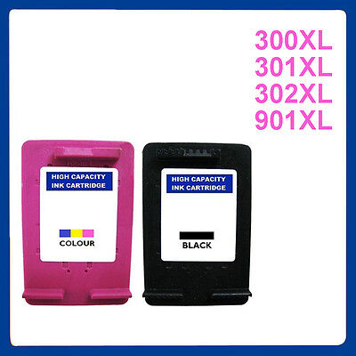 Premium Ink Cartridges Replace For HP 300XL 301XL 302XL 901XL