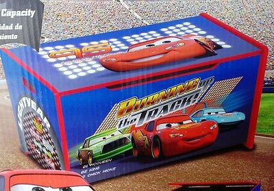 Disney Cars McQueen Wooden Toy Box Kids Storage Unit - New  reduced !!