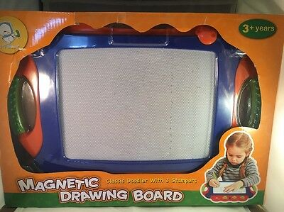 Wishtime Doodle Sketch Learning Toy Erasable Colorful Large Size Magnetic Board