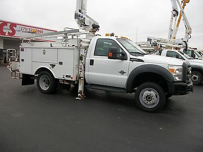 2011 Ford F550 4x4 Bucket Truck Articulated & Telescopic