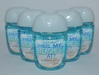5 Bath Body Works Where My Beaches At Coconut Kiss Pocketbac Hand Gel Sanitizer