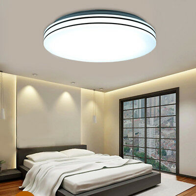 Dimmable Remote 36W LED Ceiling Down Light Panel Flush Mount Kitchen Living Room