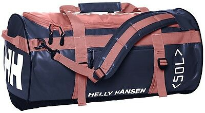 Helly Hansen HH Duffel Bag 50L Holdall 67002/103 Shell Pink NEW
