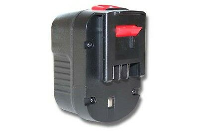 Batteria 1500mAh 12V Ni-CD per Black & Decker A12 / A12EX / A12-XJ / A1712