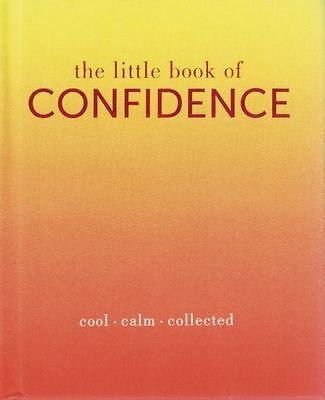 The Little Book of Confidence by Tiddy Rowan NEW Hardback