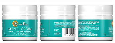 Puritans Pride Retinol Cream Vitamin A 100,000 Iu Per Ounce For Anti-ageing 56g