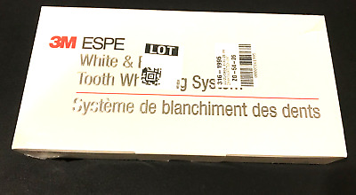 3M ESPE White & Brite Touch Up Kit 16% Professional Teeth Whitening System