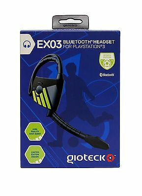 Gioteck ex-03 Bluetooth Headset for PlayStation 3