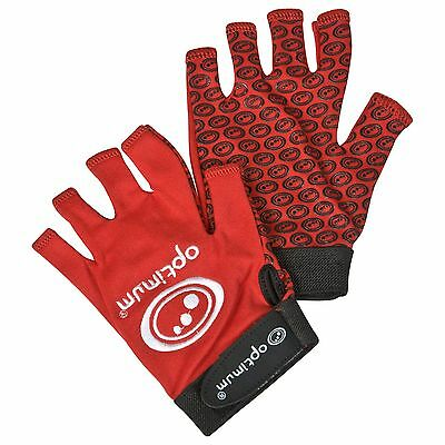 Optimum Stick Mitts - Red M42