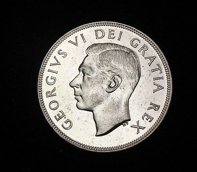 1951 Canada Silver Dollar High Grade With Luster