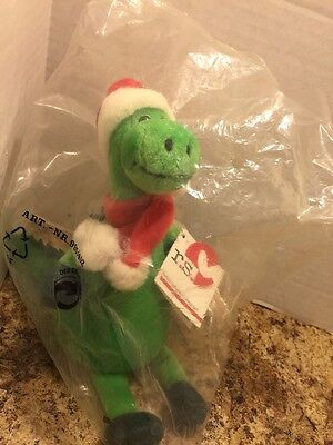 Rudolf Schaffer Collection Germany Dinosaur Santa Hat Scarf 6""