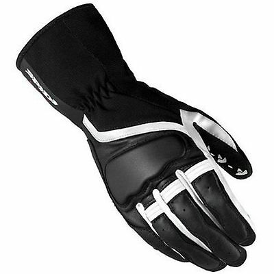 Handschuh Glove In Der Haut Lady Schwarz-Weiss Grip 2 Leather Spidi Size Xs