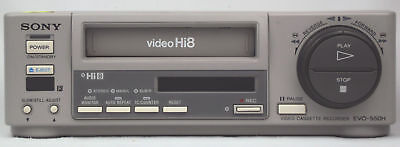 Sony Evo-550H  Hi8 Vcr Same As Ev-C100  Full Warranty Mint Visa Master Amex Disc