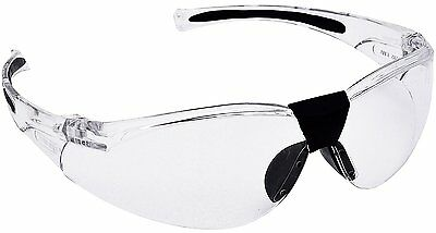 PORTWEST PW39 Lucent Safety Glasses Spectacles Anti-Scratch Curved CLEAR Lens