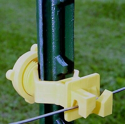 Zareba ITSOY-Z Screw-On T-Post Insulator,  for electric fence (Bag of 25pcs)