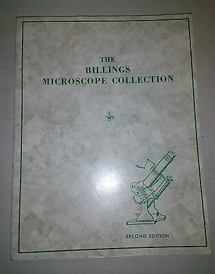 THE BILLINGS MICROSCOPE COLLECTION 2nd Edition 1974 PB Medical Museum Pathology