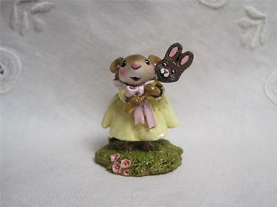 Wee Forest Folk M-388 The Bunny Pop - Easter Mouse New in Box
