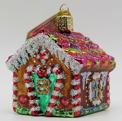 Gingerbread House Merck Old World Christmas Ornament 20013
