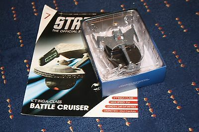 Star Trek Eaglemoss Battlecruiser Issue 7 With Magazine
