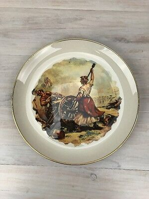 Ridgewood Fine China Battle of Monmouth Collectors Plate The Museum Collection