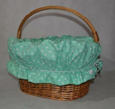 Bicycle Wicker Basket Lining