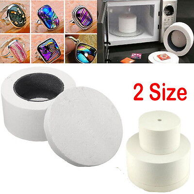 Ceramic Fibre Small Microwave Kiln Stained Glass Fusing Supplies Professional +%