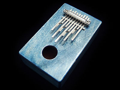 Kalimba / Shamanic rainbow / (Blue) Sansula Thumb Piano Great sound New 2017 !!!