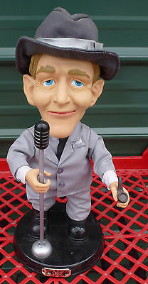 "18"" Bing Crosby 2001 Singing Dancing Doll figure gemmy animated"