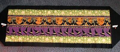 Handmade Halloween Table Runners:  Your Choice From 10 Runners