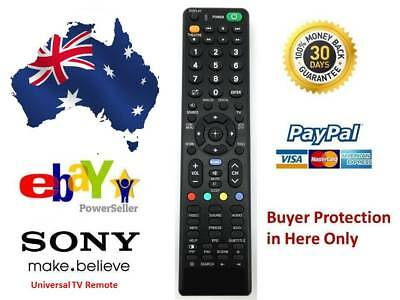 REMOTE CONTROL FOR SONY BRAVIA TV DVD KDL-32BX320 KDL-32BX320 NoSetUp