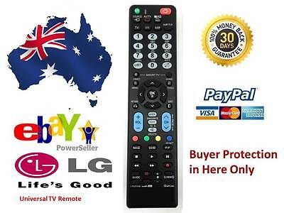 Remote Control For LG LED LCD 3D TV 42PG20D 42PJ350 42PG80UD-AA 42SL80YD NoSetup