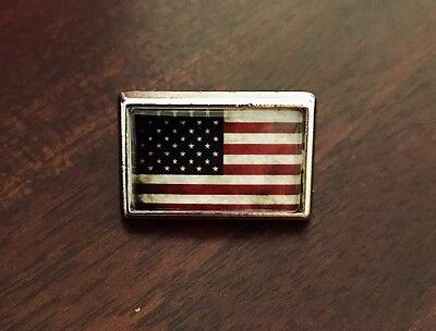 Authentic American Flag Lapel Pin Tie Tac Hat Pin Old Glory Art
