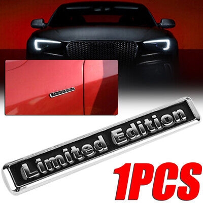 "New Style Universal Metal ""Limited Edition"" Car Body Emblem Badge Sticker Decal"