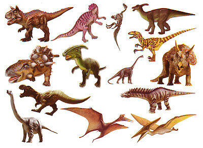 Waterproof Temporary Fake Tattoo Stickers Cute Dinosaur Kids Children Cartoon