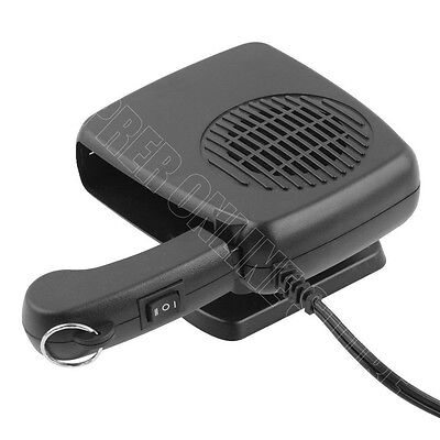 Car Heater 12V/200W Ceramic Auto Heateing Fan Vehicle Windows Defroster Demister