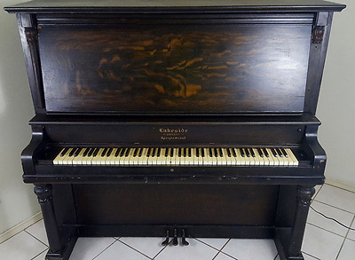 Vintage 1920s Chicago Lakeside Upright Piano