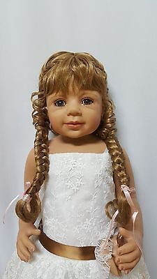 "NWT Monique Violet Lt Str Blonde Doll Wig 16-17"" fits Masterpiece Doll(WIG ONLY)"