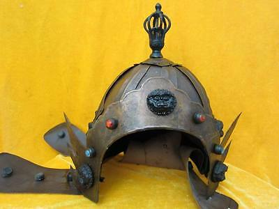 antique   antique The ancient Chinese general's helmet