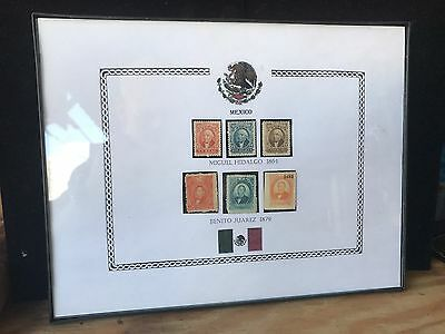 MEXICO Stamp Set 1864 & 1879  Original Stamps!