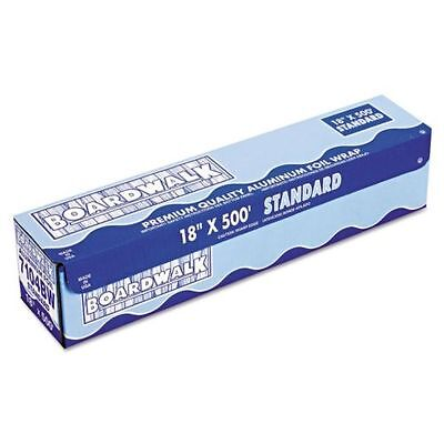 Standard Aluminum Foil Roll, 12'' x 250ft, 11 Micron Thickness, Silver