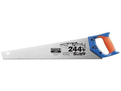 "BAHCO 22""/550mm BARRACUDA 244+ Hardpoint 7TPI Wood/Timber Cutting Hand Saw 244P"