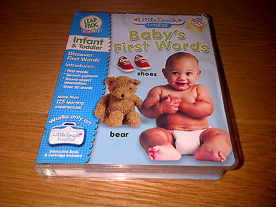 BABYS FIRST WORDS BABY LEAP FROG LEAP PAD No1 Infant Toy 2004 INFANT & TODDLER